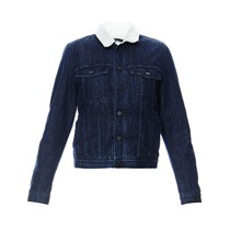 Sherpa - Giacca jeans con paillette - blu jeans