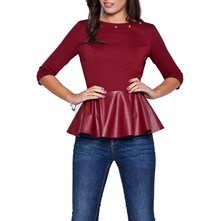 Top Peplum - lycra