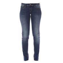 PULP PUSH UP - Jean slim - bleu