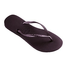 Slim - Teenslippers - aubergine
