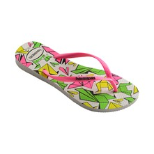 Slim Cool - Teenslippers - wit en roze