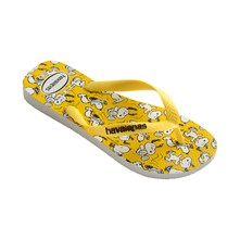 Snoopy - Teenslippers - geel