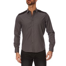 Niverno - Camisa - gris oscuro