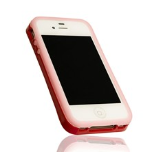 iPhone 4/4S - Fluorescerende Case - roze