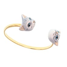 Chat blanc - Armband Reif