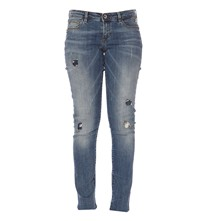 New Promenade - Jean slim skinny - denim bleu