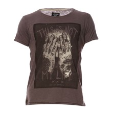 Wasted - T-shirt - gris