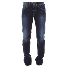 Kingston - Jean recto - denim azul