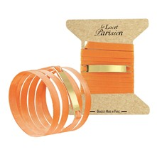 Ottoman - Bracelet gourmette - orange