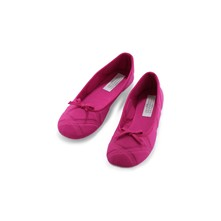 Chaussons - rose indien
