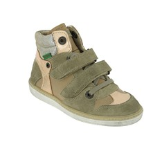 Sneakers in pelle - beige