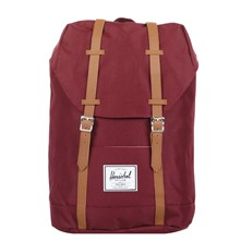Retreat - Rucksack - weinrot