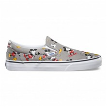 Classic Slip-On (Disney) Mickey - Slip-on - gris foncé