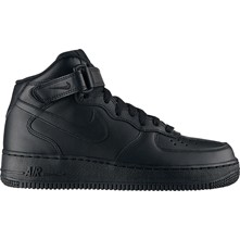 Air Force 1 Mid - Halfhoge gympen - zwart