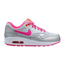 AIR MAX 1 (GS) - Baskets - argent