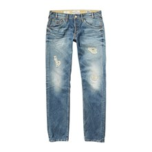 Marshall - Jean slim - denim bleu