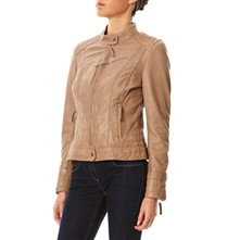 Story - Giacca in pelle - beige