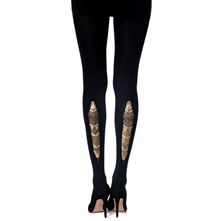Feather Ethnic - Collant - noir