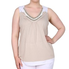 Tatiana - Top - beige