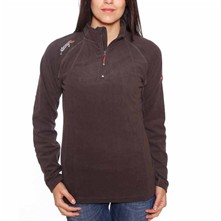 Techouva - Sweat polaire - marron
