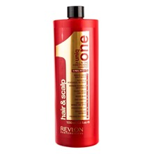 Uniq One Hair & Scalp SHampoo - Champú - 1000 ml - rojo