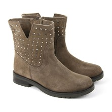 Vancouver - Boots en cuir - taupe