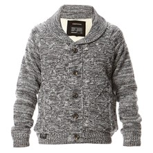 Corey Dakota - Strickjacke - grau