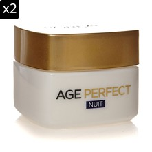 Age Perfect - 2 creme notte anti-rilassamento e anti-macchie - 50 ml