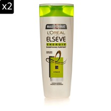 2 shampoo Energie citrus - 400 ml