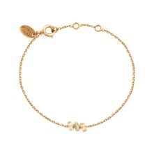 Baguette Triple - Bracelet chaîne - Golden Shadow