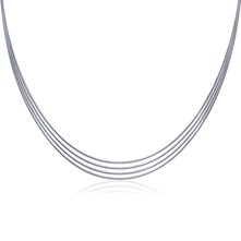 Intemporelle - Collar - plateado