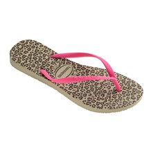 SLIM ANIMALS - Chanclas - beige