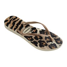 SLIM ANIMALS - Teenslippers - camel