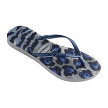 SLIM ANIMALS - Teenslippers - blauw