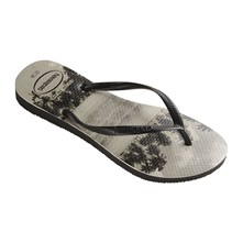 SLIM PHOTOPRINT - Teenslippers - beige
