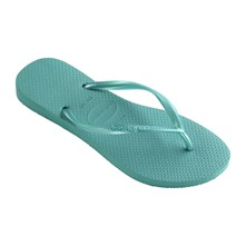 SLIM - Teenslippers - groen