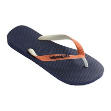 TOP MIX - Teenslippers - marineblauw