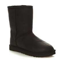 Classic Short Leather - Bottes - noir