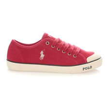 Sneakers in pelle scamosciata - rosa india