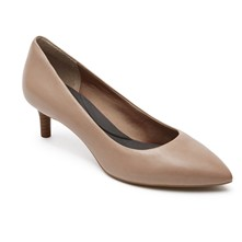 Kalila Pump - Leren pumps - beige