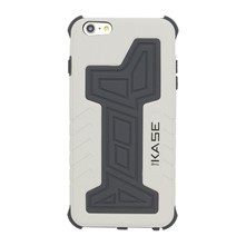 Commando - Case anti-schok voor iPhone 6+/6S+ - grijs
