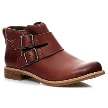 Ek Savn hill - Bottines en cuir - brun
