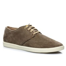 Ek fulk - Sneakers in pelle - marrone scuro