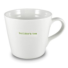 Builder's tea - Mug XL - blanc