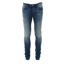 ONE shuPEP BLUE JEANS - Jean droit - denim bleu
