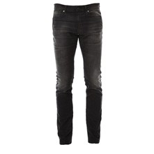 SHNTWOMARIO 1377 BLACK ST-JEANS NOOS - Jeans dritti - nero