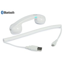 Mini cornetta telefonica hi-Ring Bluetooth - bianco