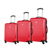Strass - Set 3 trolley - rosso