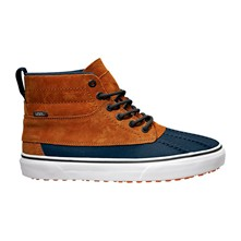 U SK8-HI - High Sneakers aus Leder - kamelfarben
