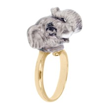 Elephant - Ring - grau